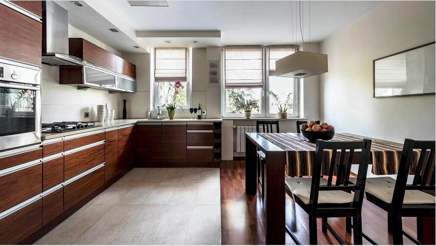 Linóleum padló használata a konyhában