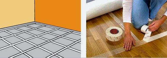 A szőnyeg fektetése: különböző módon, különböző helyiségekben