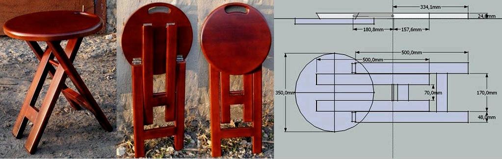 Széklet: csináld magad 3-5 részből álló egyszerű, konyhai, dekoratív, összecsukható és egyebekből