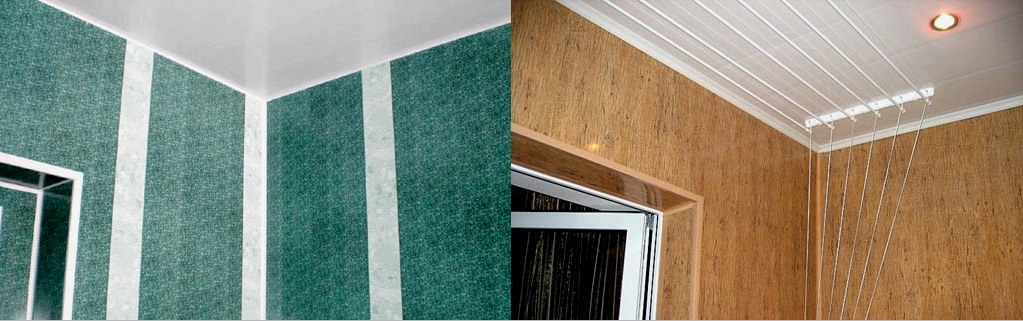 A falak burkolása PVC panelekkel: építés, telepítés, lejtők